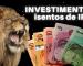 Mais 2 investimentos isento de IR